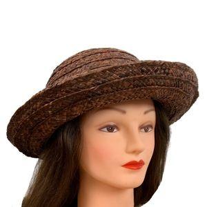 Liz Claiborne Straw Sun Hat